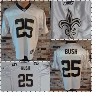 Reebok NFL New Orleans Saints Reggie Bush Jersey